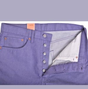 🔥NWT🔥 Levis 501Purple Jeans Shrink to Fit 38x32